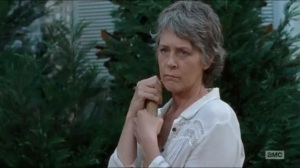 Twice As Far- Carol watches Daryl dig