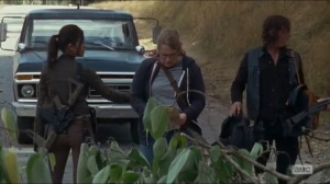 Twice As Far- Denise, Rosita, and Daryl on the road