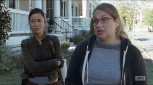 Twice As Far- Denise tells Daryl and Rosita about a store that may have drugs