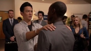Holacracy- Sean Chew, played by John Cho, gets a read on Marty