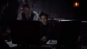 Into the Woods- Alfred and Bruce look into Thomas Wayne's computer