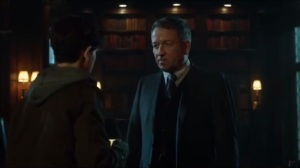 Into the Woods- Alfred tells Bruce that Lucius Fox fixed Thomas Wayne's computer