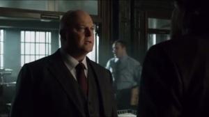 Into the Woods- Barnes asks Bullock if he's seen Gordon
