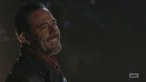 Last Day on Earth- Negan smiles