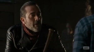 Last Day on Earth- Negan speaks to Carl