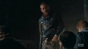 Last Day on Earth- Negan thinks that Maggie looks shitty
