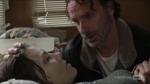 Last Day on Earth- Rick checks on Maggie