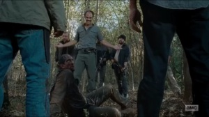 Last Day on Earth- Steven Ogg and a group of Saviors find a survivor