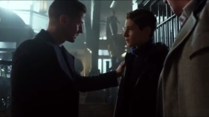 Pinewood- Bruce and Alfred are released from holding at GCPD