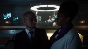 Pinewood- Miss Peabody tells Hugo Strange that someone is searching for Karen Jennings