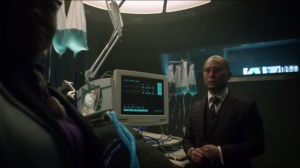 Pinewood- Miss Peabody tells Hugo that Karen is being sent to Blackgate