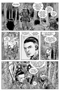 The Walking Dead #153- Laura asks why Dwight has Lucille