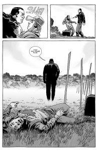The Walking Dead #153- Negan kills Brandon