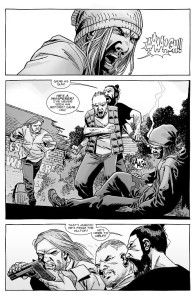The Walking Dead #153- Paul shoots Marco before being restrained by Jesus