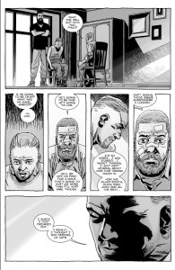 The Walking Dead #153- Rick realizes he might have incited violence