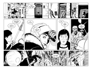 The Walking Dead- The Alien- Claudia saves Jeff