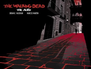 The Walking Dead- The Alien- Cover
