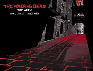 The Walking Dead- The Alien- Cover