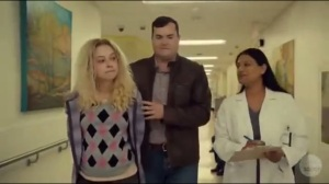 Transgressive Border Crossing- Donnie and Helena at the hospital