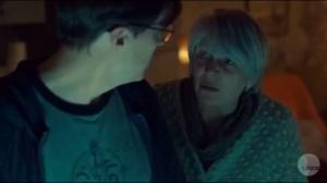 Transgressive Border Crossing- Kendall makes Scott swear not to tell anyone that she has leukemia