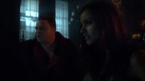 Azrael- Butch and Tabitha spot Galavan on the news