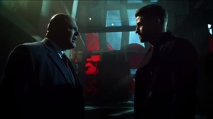 Azrael- Jim tells Barnes that one day, he might run the GCPD