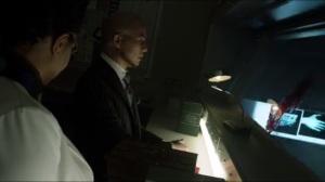 Azrael- Strange and Peabody watch Galavan