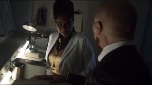 Azrael- Strange tells Peabody that he'll create a story for Galavan