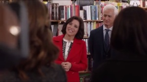 Cuntgate- Selina and Charlie at a bookstore
