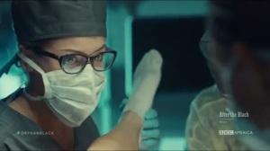Human Raw Material- Cosima helps with a birth