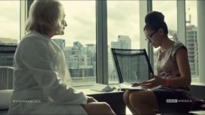 Human Raw Material- Susan speaks with Cosima