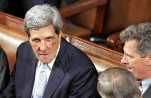 John Kerry's black eyes
