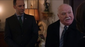 Mother- George Huntzinger, played by Brian Doyle-Murray, tells Selina that people outside wish her well
