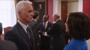 Nevada- Selina speaks with Charlie Baird, played by John Slattery