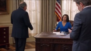 Nevada- Selina tells Ben that she wants a little task force