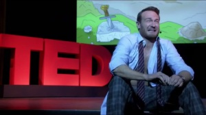 One-Eighty- Doug cries during his TED Talk