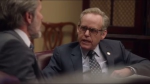 Thanksgiving- Jeffrey, played by Peter MacNicol, talks about the special election