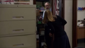 The Eagle- Amy finds Bob inside a closet