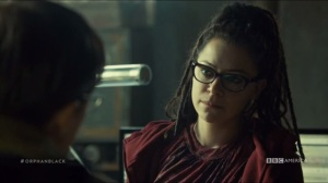 The Scandal of Altruism- Cosima is not sure about giving up the data