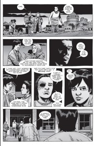 The Walking Dead #154- Carl tells Maggie that he's not leaving the Hilltop
