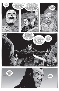 The Walking Dead #154- Negan speaks with some Whisperers