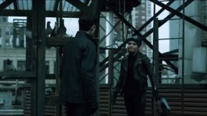 Unleashed- Bruce asks Selina for help breaking into Arkham