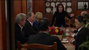 Camp David- Selina storms out of the meeting