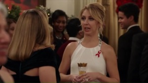 Congressional Ball- Candi Caruso tells Amy that she's engaged