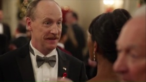 Congressional Ball- Mike tells Sue that he might have a new job lined up for him