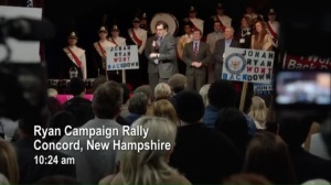 Congressional Ball- Ryan Campaign Rally