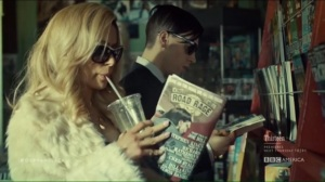 From Dancing Mice to Psychopaths- Krystal and Felix in the comic book store