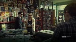 From Dancing Mice to Psychopaths- Krystal enters the comic book shop and talks with Felix, Scott, and Hell-Wizard