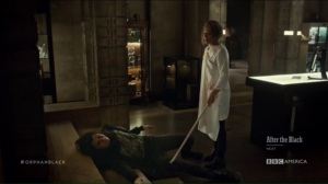 From Dancing Mice to Psychopaths- Rachel messes with Sarah's leg
