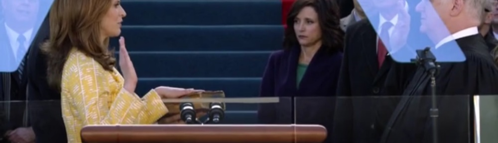 Inauguration- Laura Montez takes the Oath of Office- Veep, HBO